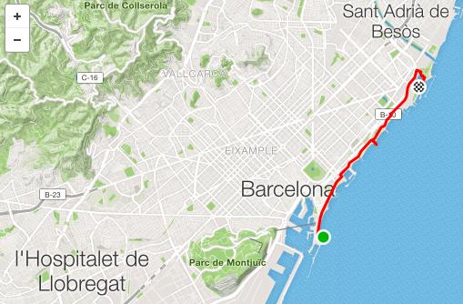 Barcelona Beach Ride